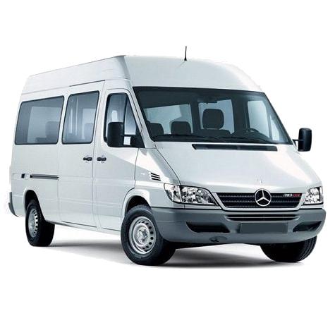 Mercedes-Benz Sprinter mikroautobuso nuoma - Keleivinis - Busunuoma.lt